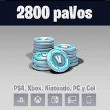 Pavos De Fortnite 2800