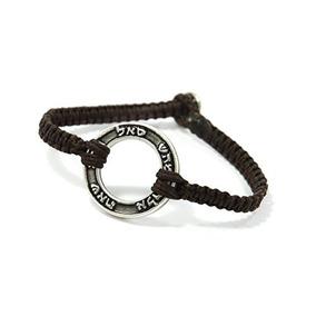 72 Names Silver Katedbaum Charm Brown Charm Bracelet For Men
