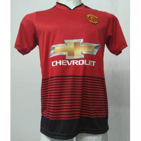 Camiseta Manchester United Titular 2018/19 -numero S/cargo