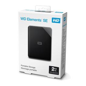 Hd Externo 2tb Portátil Wd Elements Se Usb 3.0 Ps4-xbox