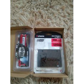 Memoria Ram 4gb 2400 Mhz + Ssd 120gb Sata 3