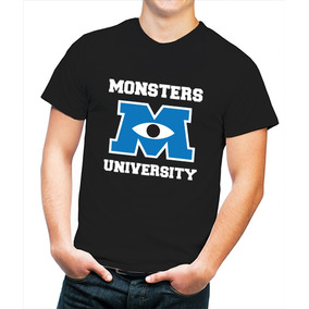 Playera Hombre Monsters University Monster Inc.