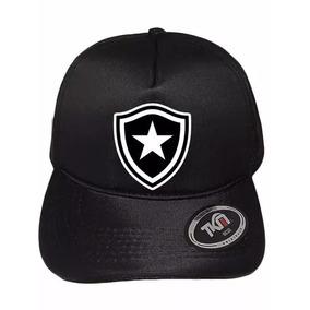 0910f2c84a Bone De Futebol Time Botafogo - Acessórios da Moda no Mercado Livre ...