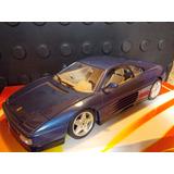 Ferrari 348 Tb 1989 Azul Hot Wheels