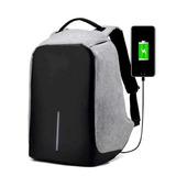 Mochila Backpack Antirrobo Impermeable Puerto Usb