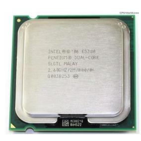 Processador Intel Dual Core E5300 - 2600 Mhz