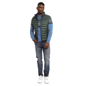 Chaleco Benetton Green 2bup5gom8