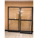 Porta De Vidro Para Sacada Em Alumínio - 2,10mx 1,91m)
