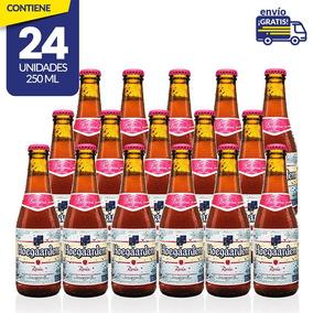 Cerveza Importada Hoegaarden Rosée, 24 Botellas 250ml C/u