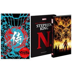 Livro N. Stephen King + Shirô - Darkside - Ed. Colecionador
