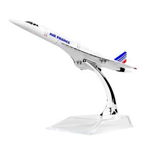 Avião Miniatura Air France Concorde F-bvfb 16 Cm Metal