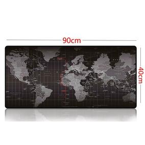 Mousapad Extra Grande 90x40 Mapa Terra