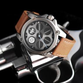 Rvlvr -model Q1-d (gun Metal) Quartz-45mm Revolver