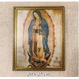 Cuadro Virgen De Guadalupe Lámina Original Traída De México