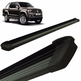 Estribos Aluminio Negro G3 Bepo Para Volkswagen Amarok