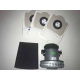Kit Motor Aspirador Agpo/h2po/h3po, Receptor E Filtro