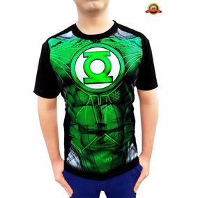 Playera Linterna Verde Dc Comics De Moda Calidad Premium