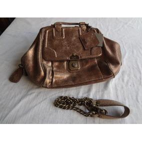 2f6519b146dce Bolsa Dolce Gabbana Modelo Bag Allyson Ouro Rose Usada