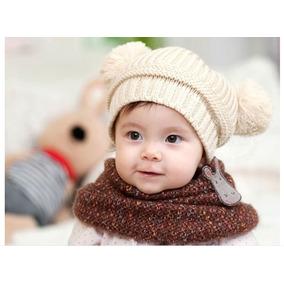 Gorros Tejidos Para Bebés Y Niñas Con Moños en Mercado Libre México 43d24ef6667