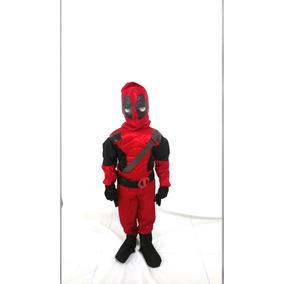 Disfraz De Deadpool Para Niño Super Heroe Marvel f0111f6912ff