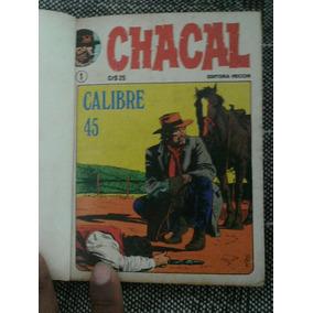 Coleção Chacal Encadernado Do 1 Ao 20 5 Vol. Vecchi