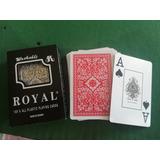 3 Barajas Poker Royal 100% Plastico Numero Grande (tres)