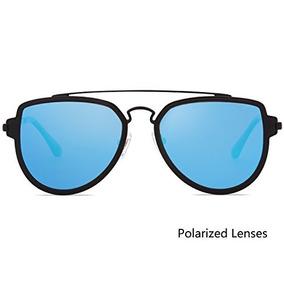5d3c281f054fb Gafas De Sol Aviador Lente Azul Fashion Uv 400 - Ropa y Accesorios ...