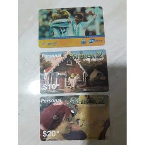 11 Cartões De Celular E Telefone Extrangeiros Usados -sherek