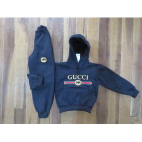 Cojunto De Moletom Infantil Moleton Casaco De Frio Gucci Gap 8cdb509a583