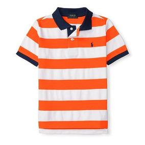 Camisa Polo Laranja Ralph Lauren 2 Anos - Calçados 4a5d40ad835