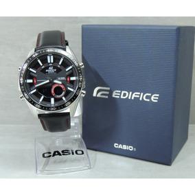 9a44566b07d Relogio Casio Edifice - Relógio Casio Masculino Couro no Mercado ...