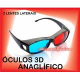 18523ed1b1b8a 2 Óculos 3d Nvidia Anaglífico Red   Blue Games Filmes Tv 3d