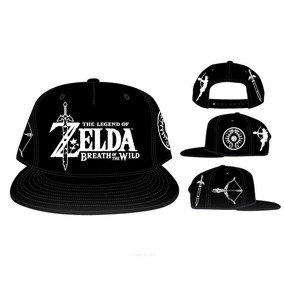 Gorra Botw Snapback The Legend Of Zelda Unitalla Thinkgeek