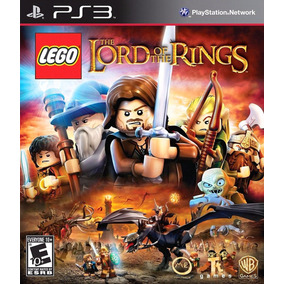 Jogo Game Lego The Lord Of The Rings Física Lacrado Ps3