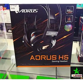 Headset Gigabyte Aorus Para Jogos H5 Gaming - Preto