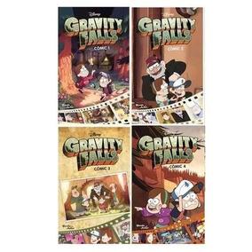 Gravity Falls X 4 Comics Packs - Planeta Junior