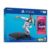 Ps4 Consola Play Station 4 Slim 1tb + Juego Fifa 19