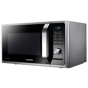 Microondas Samsung 28 L Mg28f3k3tas/bg Plata