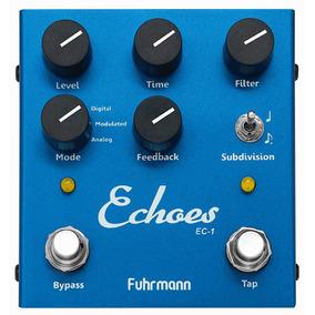 Pedal Echoes Fuhrmann Tap Delay Guitarra Lançamento 2017