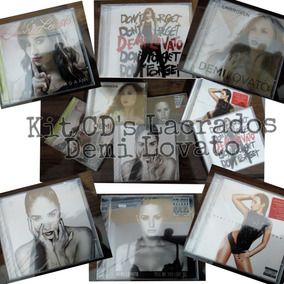 Kit Cd Lacrado Demi Lovato 6 Discos Originais