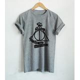 Camiseta Camisa Harry Potter Relíquias Da Morte