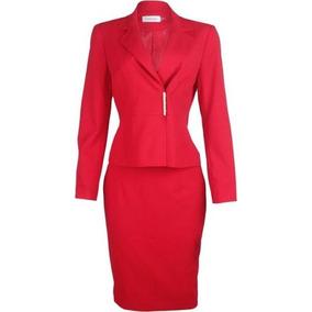 Calvin Klein Traje Mujer Rojo