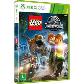 Lego Jurassic World - Xbox 360 Novo Original Lacrado Disco