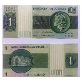 Cédula De 1 Cruzeiro - Brasil -