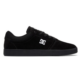 Tênis Dc Shoes Crisis La Black White Camurça