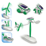 Juguete Solar Para Ninos Educativo 6 En 1 Maikoi