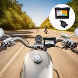 5 Motocicleta Gps Navegación Impermeable Android Bluetooth