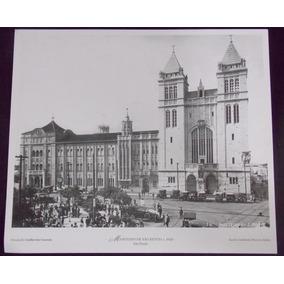 Foto Cartão Mosteiro De São Bento São Paulo Antiga 1920