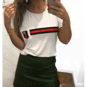 Camiseta Da Gucci Feminina - Camisetas e Blusas Manga Curta para ... fd6e92ef492d7