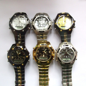 Relógio Masculino Potenzia Digital E Analogic,lote Com 10.